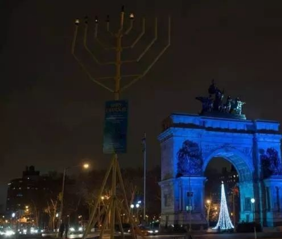 Hannukkah Lighting