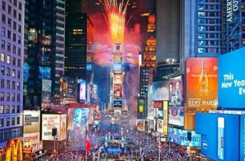 Time Square New Year
